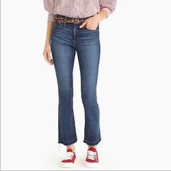 J. Crew Jeans | J. Crew Jeans Billie Demi Boot Crop Denim Jeans | Color: Blue | Size: 25