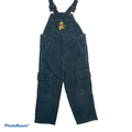 Disney Bottoms | Disney Winnie The Pooh Blue Corduroy Overall 4t | Color: Blue | Size: 4tg