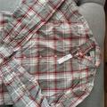J. Crew Shirts | J Crew Ls Plaid Shirt | Color: Gray/Red | Size: M