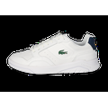 Baskets Lacoste Lacoste Game Advance Luxe Blanche Et Marine Homme