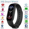 Montre connectée M6 pour xiaomi, Bracelet d'activité physique avec moniteur de pression artérielle,