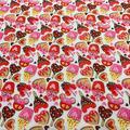 Tissu en coton polyester pour robe, tissu de couture imprimé de dessin animé pour enfants, Textile