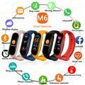 2021 Xiaomi M6 Smart Band montres femmes hommes montre tensiomètre sport Fitness Bracelet Smartwatch