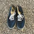 Vans Shoes | Mens Denim Vans Shoes Size 8 | Color: Blue/Gray | Size: 8