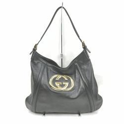 Gucci Bags | Gucci Shoulder Bag Interlocking Shoulder Bag | Color: Black | Size: Os