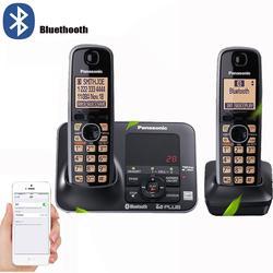 Téléphone sans fil numérique avec bluetooth, Machine à répondre, mains libres, courrier vocal, LCD,
