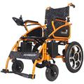 TTWUJIN Lightweight Wheelchair,Lightweight Electric Folding Electric Wheelchair, Foldable Electric Small Mobile Assisted Wheelchair, Powerful Dual-Motor Wheelchair, for Disabled/Old People