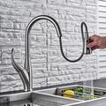 YHSGY Pull Out Kitchen Faucets 360 Rotation Kitchen Tap Single Lever Mixer Tap Cold Hot Water Sprayer Tap Torneira Robinet Cuisine