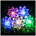Flystoo Solar String Lights Outdoor Patio Lights Solar String Lights Outdoor Garden Patio Lights for Wedding Party Garden Outdoor (Emitting Color : Multi Colour, Wattage : Solar 7M 50leds)