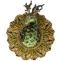 IMCCPC Forest Dragon Art Statue Wall hangings Sculpture Plaque for Fantasy Fairy Garden Decor Home Figurine New