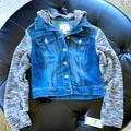 Jessica Simpson Jackets & Coats | Jean Jacket | Color: Blue/Gray | Size: M