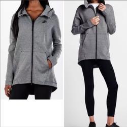Nike Jackets & Coats | Nike Sportswear Tech Fleece Cape Hoodie Jacket Sm | Color: Black/Gray | Size: S