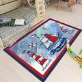 Suytan Carpets Kids Room Ocean Boat Rugs Nursery Playroom Durable Area Rug Bedrooms Children's Game Area Rug Large Home Decor Mats,B,5.24X7.54Ft (160X230Cm)