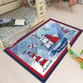 Suytan Carpets Kids Room Ocean Boat Rugs Nursery Playroom Durable Area Rug Bedrooms Children's Game Area Rug Large Home Decor Mats,B,2.62X5.24Ft (80X160Cm)