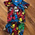 Disney Pajamas   Marvel Super-Heros Pajama Set   Color: Blue/Red   Size: 2tb
