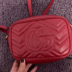 Gucci Bags | Gucci Red Disco Bag | Color: Red | Size: Mini Bag Not The Large One