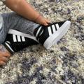 Adidas Shoes | Adidas Grand Court Tennis Shoes Size 5k | Color: Black | Size: 5bb