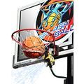 Splashball Basketball Sprinkler and Hoop Accessory - Water Spraying Action! Cool Off The Court with Every Shot, Basketball triggers Spray - fits on Spalding Slam Jam Rim, Silverback NXT Rim and More