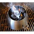 Mydracas BBQ Whirlpool for Weber 22 Weber Kettle-Stainless Steel for Weber 22.5 18.5 Kettle Grill Accessories-BBQ Steel Weber Whirlpool Grill Kettle (New Version-with Handle)