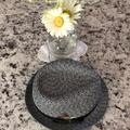Nine West Accessories | Fedora Hat | Color: Black/White | Size: Os