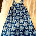 Lilly Pulitzer Dresses | Lilly Pulitzer Cover Up Dress S | Color: Blue/White | Size: S