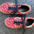 Vans Shoes   Kids Vans Shoes - Red And White Hearts   Color: Red/White   Size: 12g