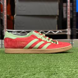 Adidas Shoes | New Adidas Originals Stadt Mens Casual Shoe Sz 12 | Color: Green/Red | Size: 12