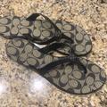 Coach Shoes   Coach Trixie Sandals   Color: Black   Size: 9