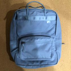 Nike Bags   Nike Small Backpack   Color: Gray/Purple   Size: 10x13x3.5
