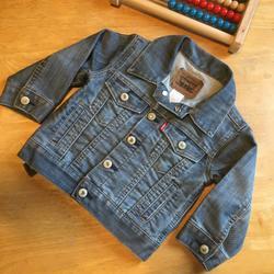 Levi's Jackets & Coats | Levis Denim Jacket Toddler 2t Jean Jacket | Color: Blue/Silver | Size: 2tb
