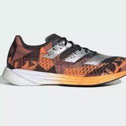 Adidas Shoes | 8 Adidas Fw9611 Adizero Pro M Shoes Orange Black | Color: Black/Orange | Size: 8