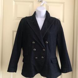Ralph Lauren Jackets & Coats | Lrl Lauren Jeans Denim Jacket | Color: Black | Size: L