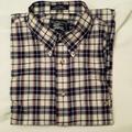 Burberry Shirts | Burberry Men'S Short Sleeve Shirt L | Color: Gray/White | Size: L