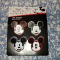 Disney Kitchen   4 Pack Mickey Mouse Bag Clips   Color: Black/Red   Size: Os