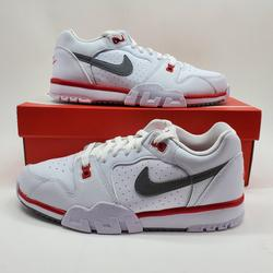 Nike Shoes | New Nike Cross Trainer Low Casual Sneakers Shoes | Color: Red/White | Size: Various