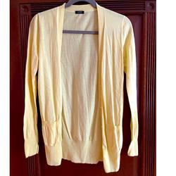 J. Crew Sweaters   Jcrew Lightweight Yellow Cardigan   Color: Yellow   Size: S
