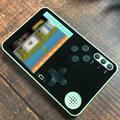 Console de Jeu Portable Portable Ultra Mince Lecteur Vidéo de poche Intégré 500 Jeux Rétro Jeu