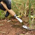 Pelle de jardin, tondeuse à gazon, tête fourchue, extracteur manuel, manche en bois de cendré, outil