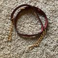 Michael Kors Bags   Mk Michael Kors Bag Replacement Strap   Color: Brown/Red   Size: Os