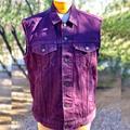 Levi's Jackets & Coats | Purple Denim Jacket | Color: Purple | Size: M