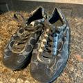Coach Shoes | Coach Signature Logo Sports Shoes ,Wore Once Only | Color: Black/Gray | Size: 7
