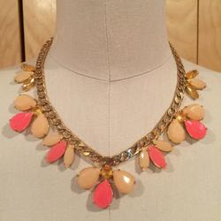 Kate Spade Jewelry | Kate Spade Necklace Gardens Of Paris Necklace | Color: Gold/Pink | Size: Os