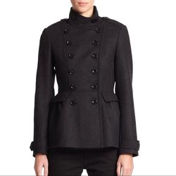 Burberry Jackets & Coats | Burberry Brit Dark Gray Adamsleigh Military Coat | Color: Gray | Size: Various