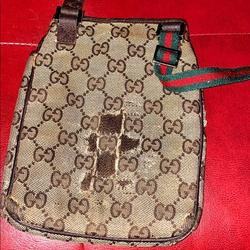Gucci Bags | Gucci Sling Bag (As Is) | Color: Brown | Size: Os