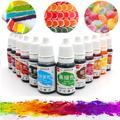 Ensemble de colorants alimentaires pour gâteaux, 12 couleurs, encre naturelle pour décoration de