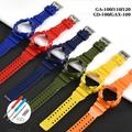 Lunette de bracelet Casio g-shock, pour GA100 bracelet en cuir synthétique polyuréthane GD100