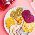 Tranches de fruits séchés bio, naturelles pures, citron, orange, Pitaya, fraise, Kiwi, avec sucre de
