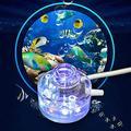 N\C ZZST Lamp Mini Colorful with Air Stone Fish Tank Bubble Light, Fish Tank Light, Aquarium for Fish Tank
