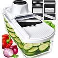 Slicer vegetable slicer and vegetable grater - potato slice machine food slicer vegetable slicer E slicer grater - vegetable slicer onion slicer fruit slicer