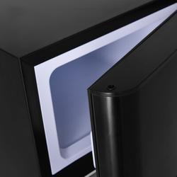 Costway Refrigerator Small Freezer Cooler Fridge Compact 3.2 Cu Ft. UnitPlastic in Black, Size 34.0 H x 19.0 W x 17.5 D in | Wayfair EP22672BK